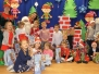 Mikołaj w grupie Smerfy