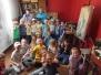 Wizyta w pracowni malarskiej - Misie